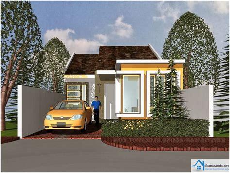 desain depan rumah natural 65 model desain rumah minimalis 1 lantai idaman dekor rumah