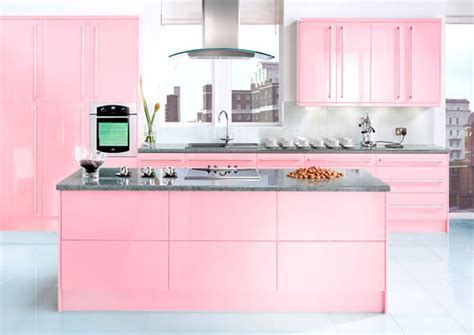 modern pink kitchen design by julie michiels interior