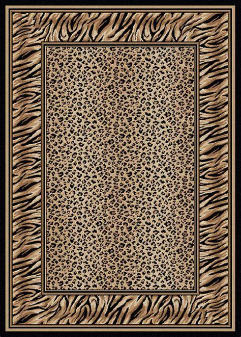 tiger area rug 8x11 radici black cheetah tiger border 1714 area rug approx 7 9 x 11 ebay