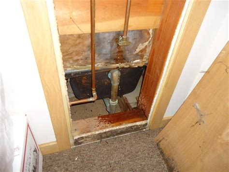 bathtub overflow leaking through ceiling how to inspect your own house part 6 plumbing homesmsp