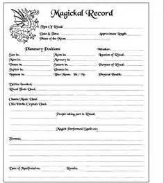 bos card template blank worksheet daily tarot card search magick