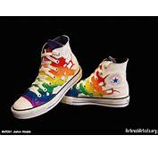Rainbow Shoes  AirbrushArtistsorg