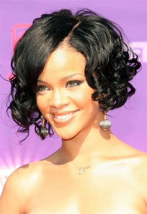 sideswept curled hairstyles for black women 5 haircut ideas for curly hair with bangs women hairstyles