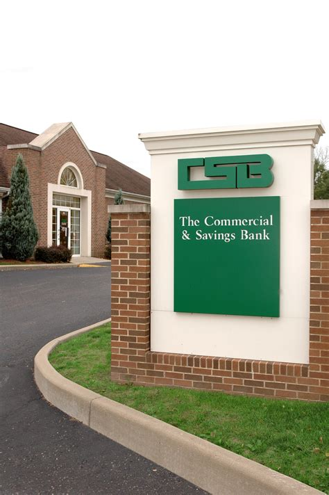bank at csb the commercial savings bank the of shreve
