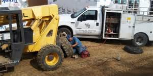 Truck Tire Repair Road Service Basin Coop Tire Shop