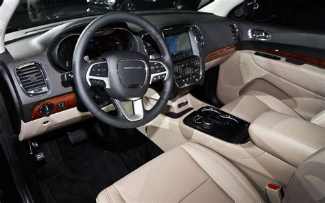 jeep durango interior 2014 dodge durango first look truck trend