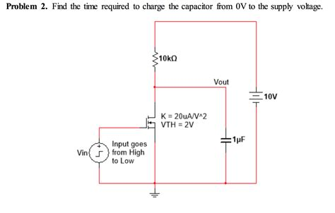 charge on capacitor time max charge on capacitor 28 images for the circuit below find the time constant of t chegg