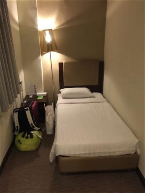 small hotel room the bed after the housekeeping picture of casa hotel hong kong hong kong tripadvisor