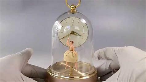 vintage german musical alarm clock reuge dancing ballerina