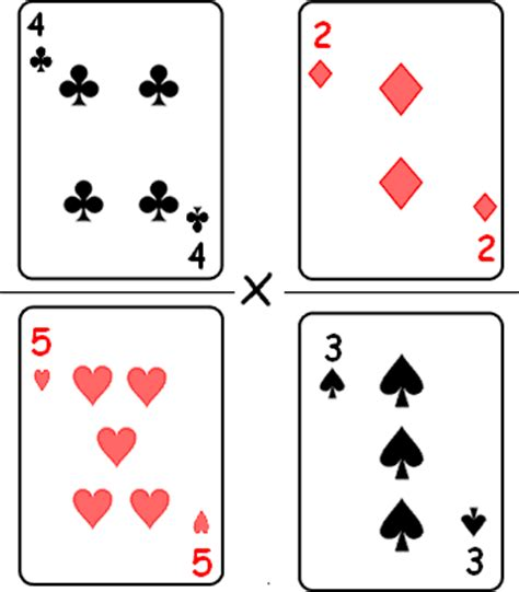 multiplying fractions using cards template a fractions for turning fear of fractions into