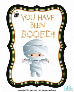 free printable you ve been booed sign you ve been booed halloween boo signs and poems from the