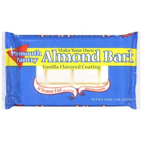 Plymouth Pantry Almond Bark Ingredients plymouth pantry almond bark vanilla baking bar 24 oz