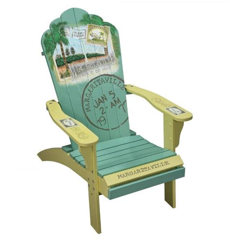 margaritaville adirondack chair cing station margaritaville painted quot back to the