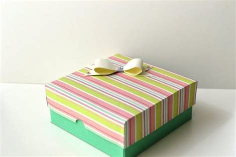 Make Your Own Paper Box - make your own valentine s day paper gift box craftbits