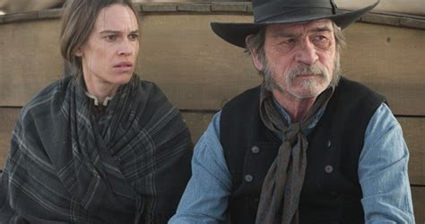hilary swank and tommy lee jones glendon swarthout rides again via tommy lee jones s the