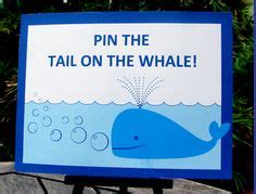 pin the tail on the whale next time we might do pin the