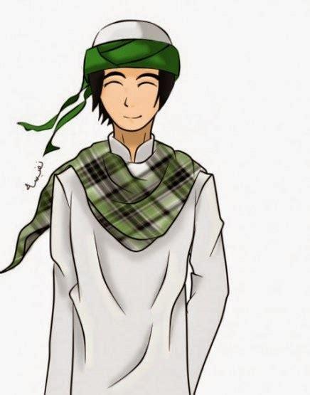 gambar muslim kartun  keren  manusia akhir zaman