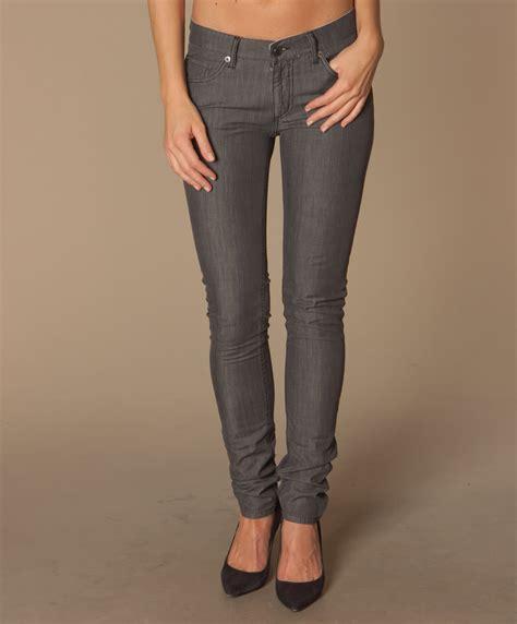 fashion grey dark grey skinny jeans womens bbg clothing
