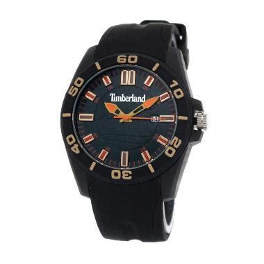 Jam Tangan Pria Timberland Coklat Tua Hitam jual tali jam tangan timberland harga promo diskon