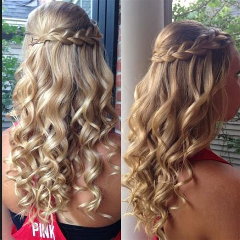 Hairstyles With Curls And Braids by Braid Curls