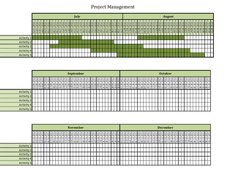 free excel project management templates within project management