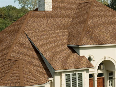 Ownes Corning Duration Premium Shingles Desert Tan house
