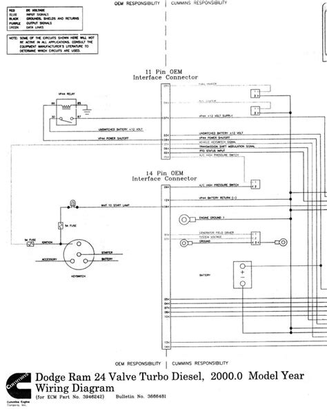 Wiring diagrams for 1998 24v ECM - Dodge Diesel - Diesel