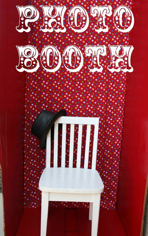 Handmade Photo Booth - 1000 ideas about photo booths on