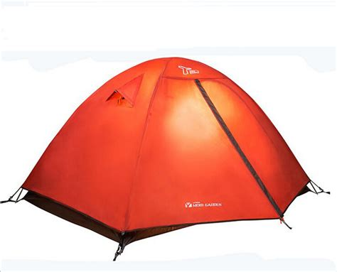 Tenda Orange 3 4 Persons Lining Family Outdoor Waterproof 2015 new brand mbg tent for tourist easy take family tent 2 person on sale fishing tents for