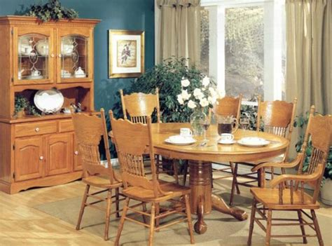 Oak Dining Room Furniture Furniture Oak Furniture Dining Room