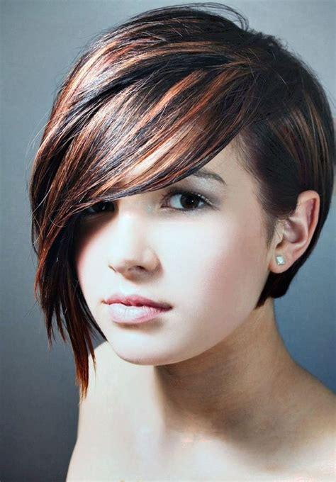 les coiffures tendance de la rentr礬e brunettes hair style