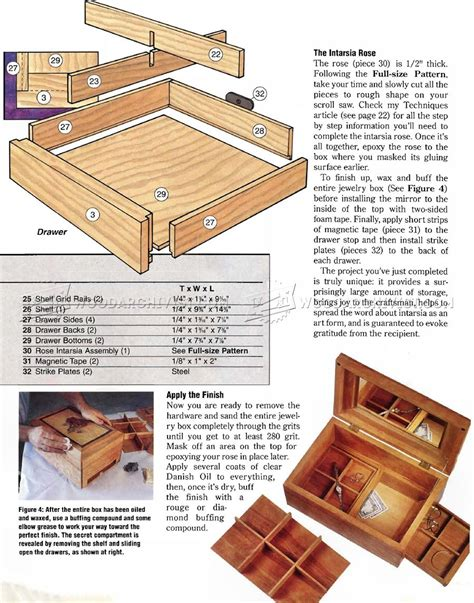 how to make box for jewelry build jewelry box woodarchivist