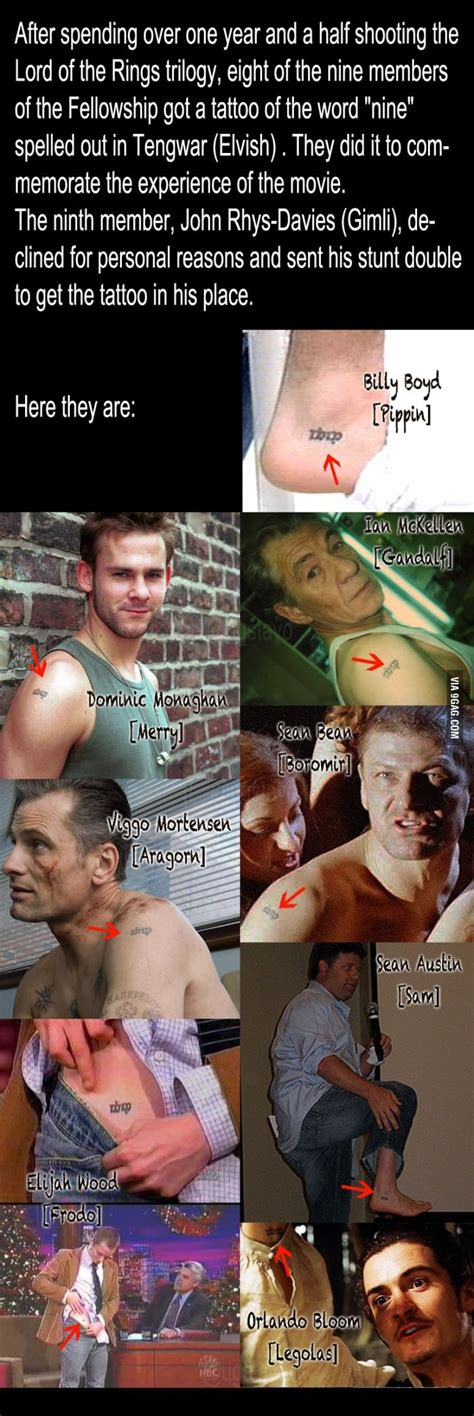lotr cast tattoo lord of the rings tattoos matching tattoos lotr and legolas