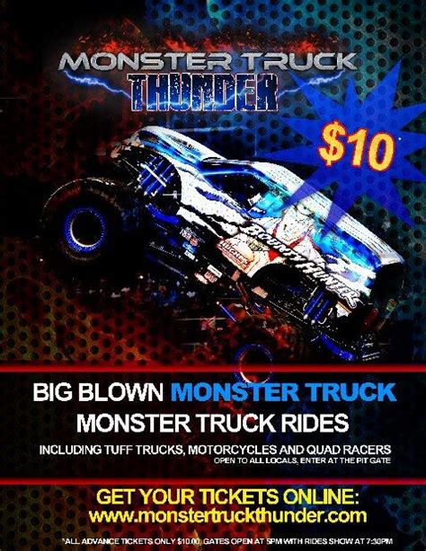 minot monster truck monster truck thunder tickets