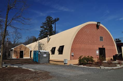 the reversed view of massachusetts quonset hut newton