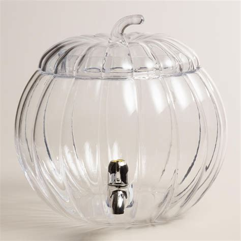 halloween drink dispenser glass pumpkin drink dispenser shape drink dispenser and