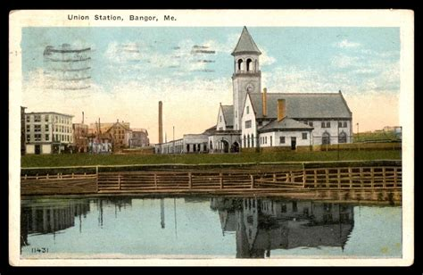 railroad stations in maine