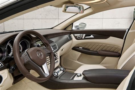 car upholstery shooer mercedes benz confirms production of the cls shooting