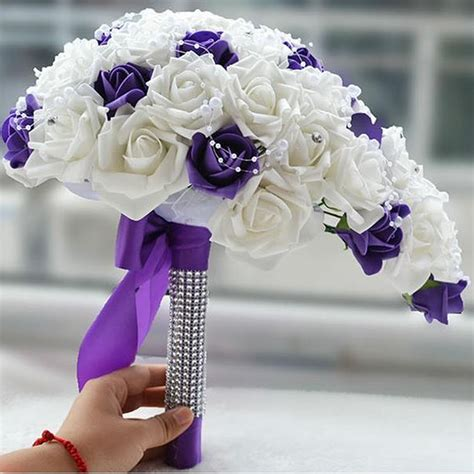 cheap real flowers for wedding get cheap cascading wedding flowers aliexpress