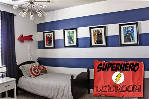 superhero bedrooms a little of this a little of that boys superhero room tour