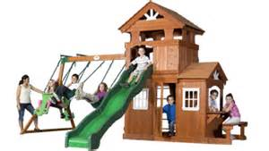 leisure time products swing set instructions wooden swing sets outdoor wooden playsets for backyard