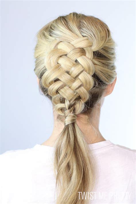 three strand braid or plait one how to tie knots 5 strand dutch braid day 12 twist me pretty