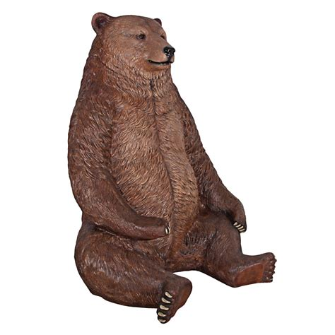 Dining Room Table And Bench massive brown bear chair the green head