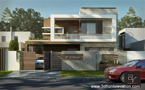 home design 10 marla 3d front elevation com 10 marla modern contemporary front