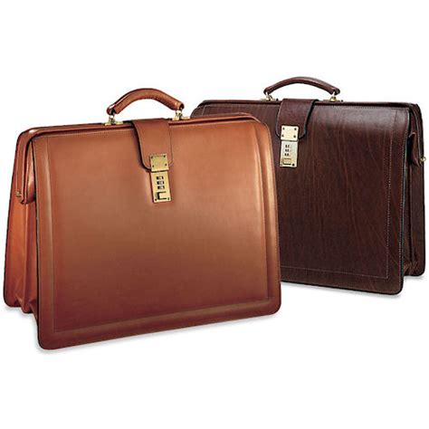 georges belting classic leather briefbag briefcase