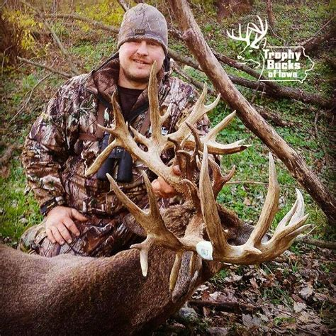 Iowa Records Iowa Archery Whitetail Buck To Be Certified New State Record