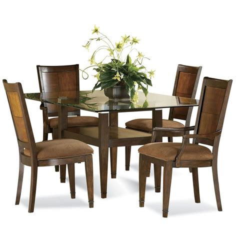 24 Ways For Enjoyable Dinner With Awesome Dining Set Ideas Glass Table Dining Room Sets
