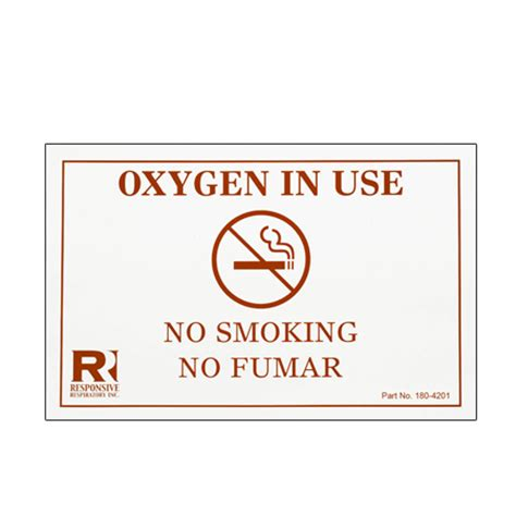 no smoking sign use home care medical professionals gt patient oxygen