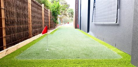 synthetic grass putting greens geelong grass roots