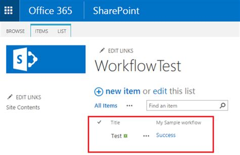 sharepoint hosted app workflow add sharepoint app workflow to host web list sharepoint